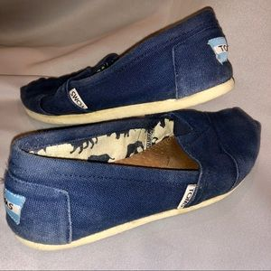 Toms Shoes - Blue toms